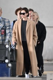 Charlize Theron - Arrives at Charles de Gaule Airport in Paris