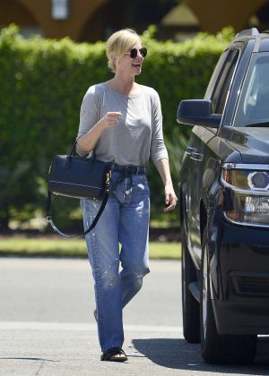 Charlize Theron - Arrives at Dance Class in Los Angeles