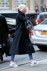 Charlize Theron - Arrives at the Crosby Hotel in New York City