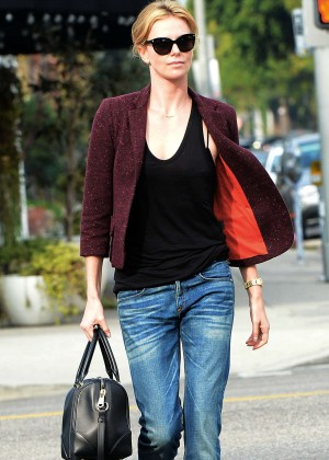 Charlize Theron at Terronis in Los Angeles