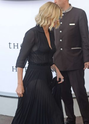 Charlize Theron at the Martinez Hotel in Cannes
