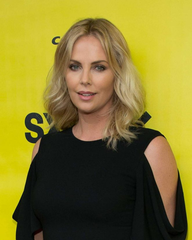 Charlize Theron Ny Blondes: Charlize Theron: Atomic Blonde Premiere At 2017 SXSW Film