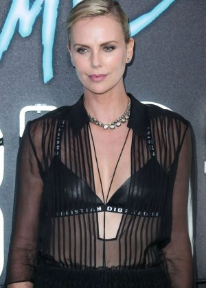 Charlize Theron - 'Atomic Blonde' Premiere in Los Angeles