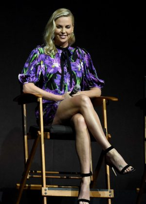 Charlize Theron - 'Atomic Blonde' Presentation at CinemaCon in Las Vegas