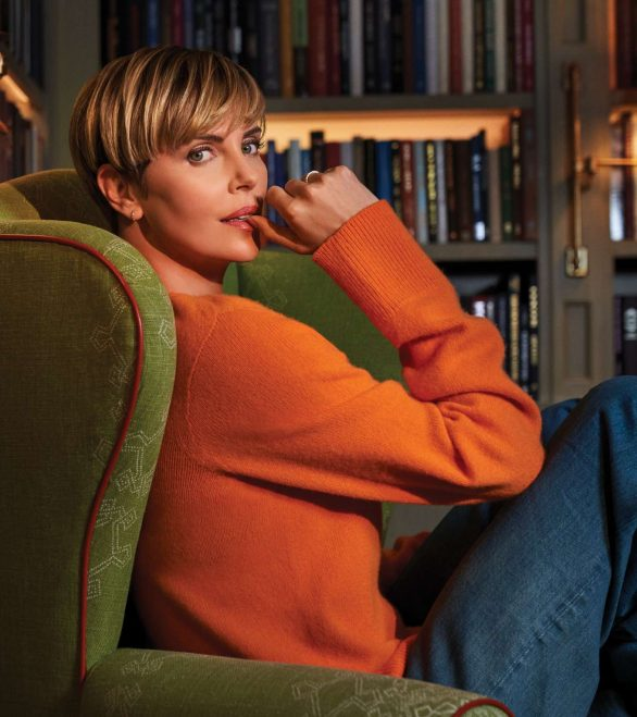 Charlize Theron - Backstage Magazine (November 2019)