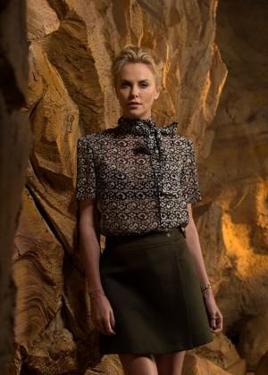 Charlize Theron by Dan MacMedan USA Today Photoshoot 2015