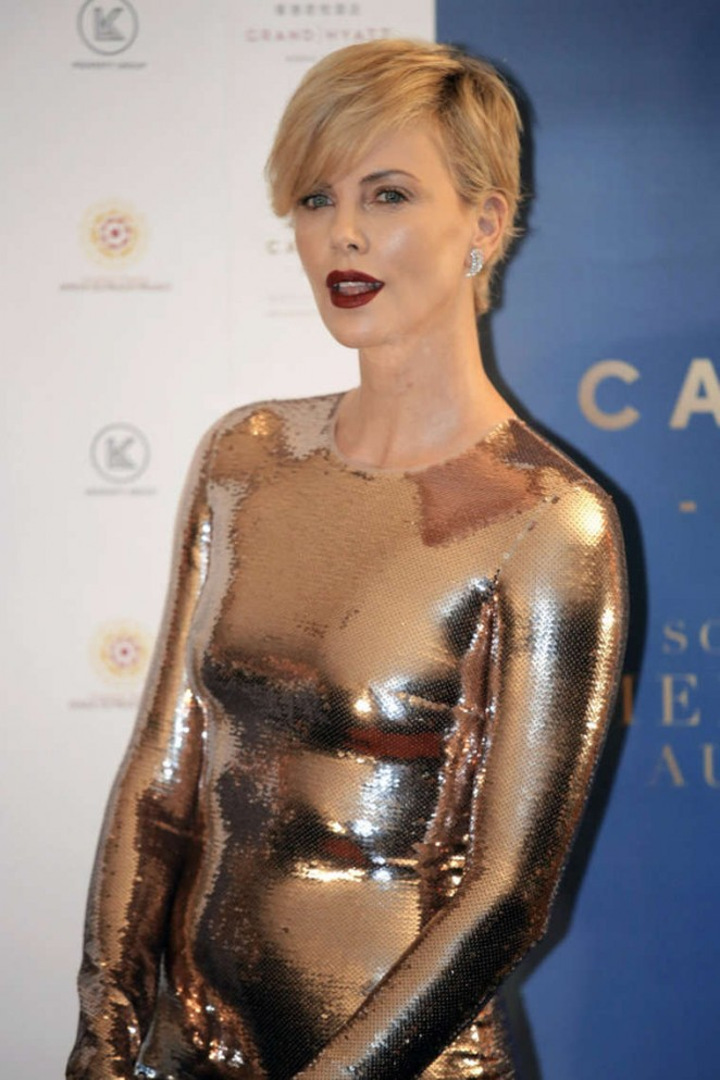 Charlize Theron – Capitol Grand Launch Party in Hong Kong