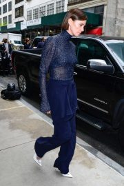 Charlize Theron - Departs Midtown Hotel ahead of a promo event In New York