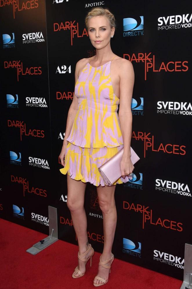 Charlize Theron – DIRECTV's Dark Places Premiere in LA