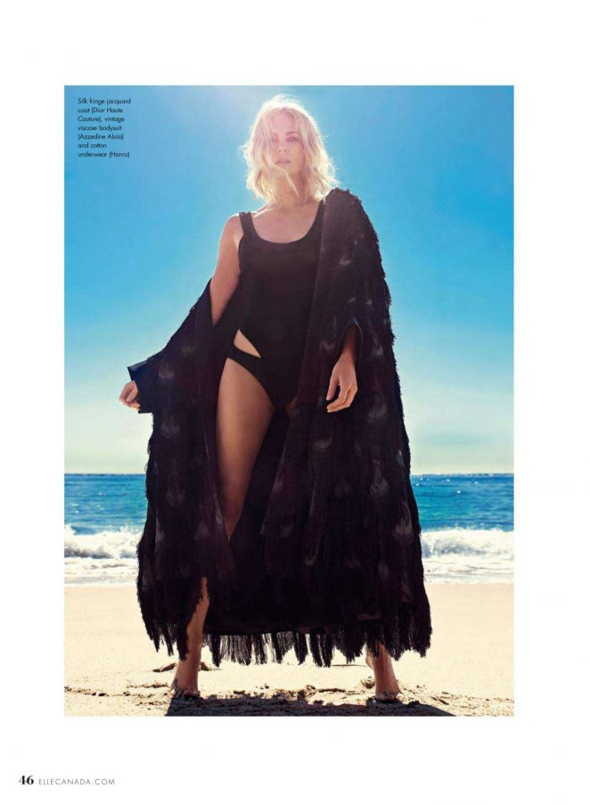 Charlize Theron -  Elle Canada Magazine (Summer 2018)