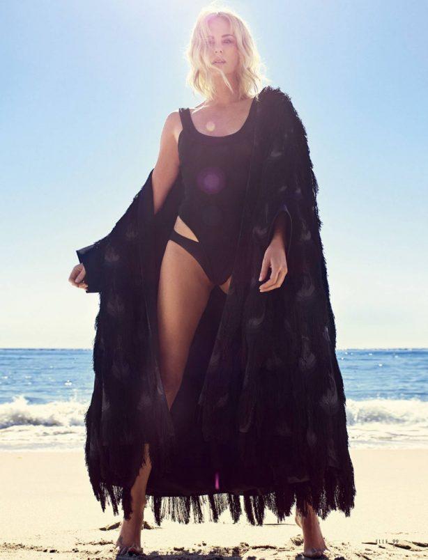 Charlize Theron - Elle Turkey Magazine (July 2020)