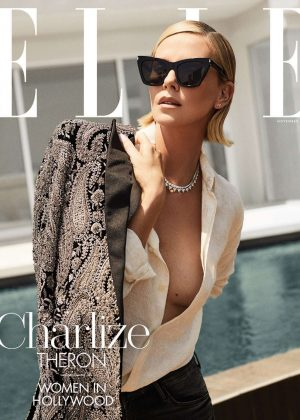 Charlize Theron - Elle US The 'Women In Hollywood' (November 2018)
