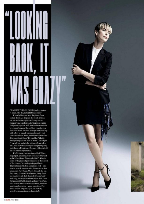 Charlize Theron - Empire UK Magazine (July 2020)