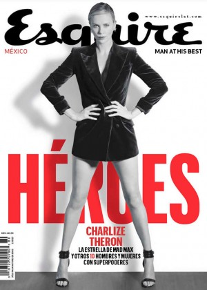 Charlize Theron - Esquire Mexico Magazine (May 2015)