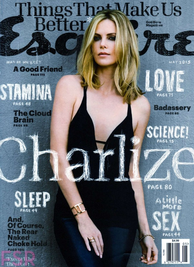Charlize Theron - Esquire USA Magazine (May 2015)