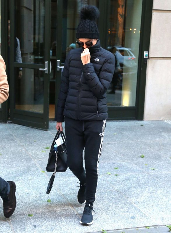 Charlize Theron 2019 : Charlize Theron – Exiting her hotel in New York-01