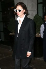 Charlize Theron - Exits a Midtown Hotel in New York
