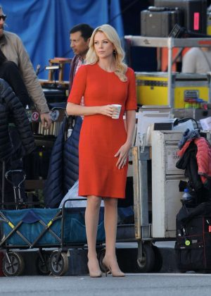 Charlize Theron - Fair and Balanced set in Los Angeles