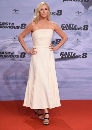 Charlize Theron - 'Fast and Furious 8' Premiere in Germany