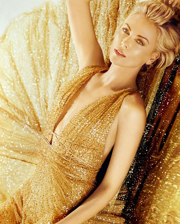 Charlize Theron for Dior J'adore Holiday Campaign 2019