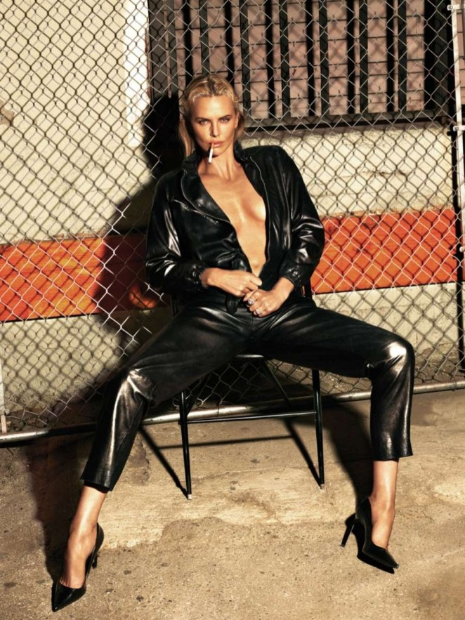 Charlize Theron for W Magazine - May 2015