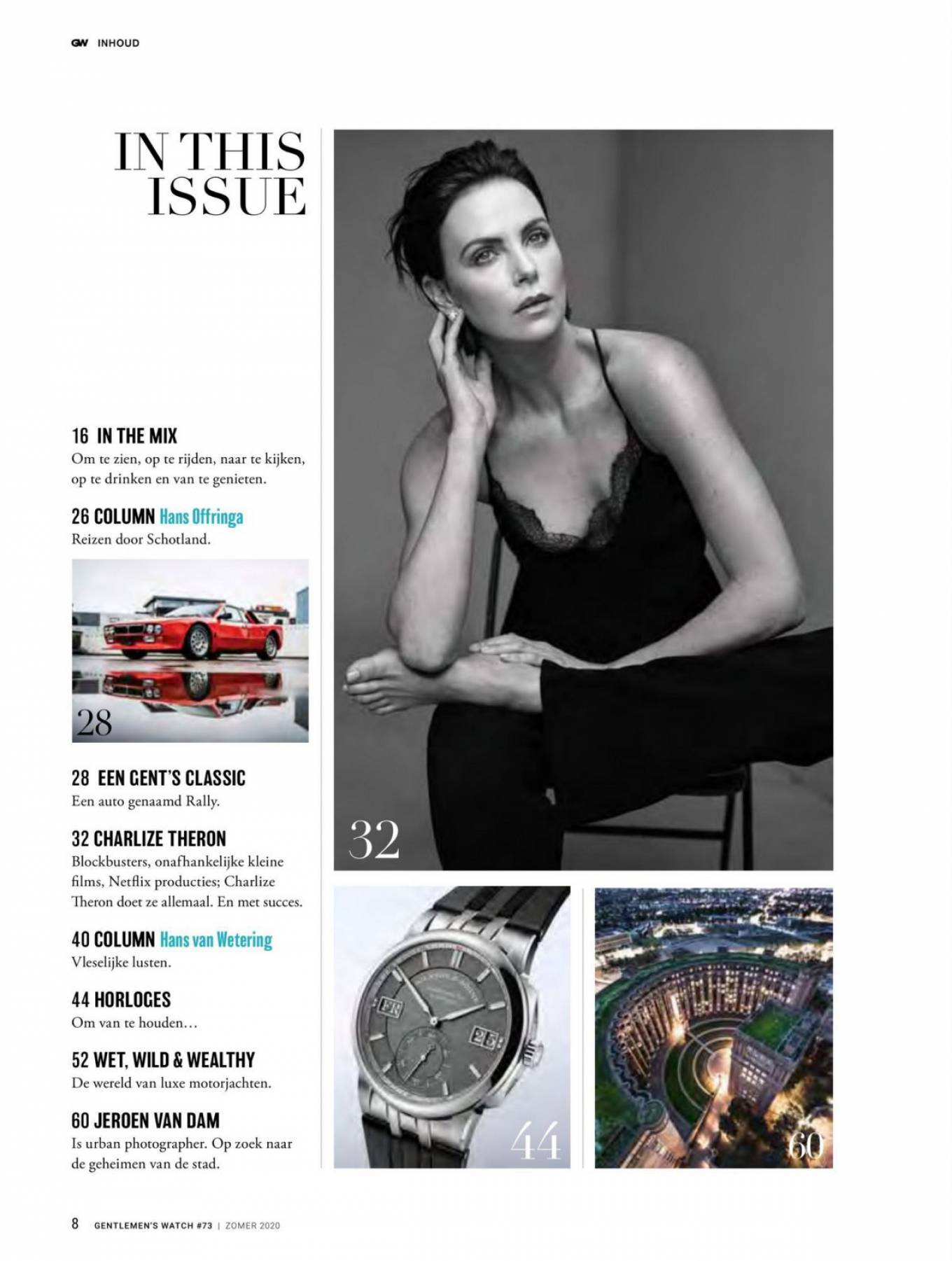 Charlize Theron 2020 : Charlize Theron – Gentlemens Watch Magazine (July 2020 issue)-03