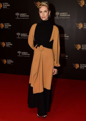 Charlize Theron - Global Teacher Prize 2018 in Dubai