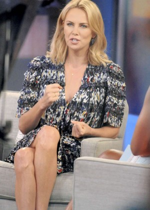 Charlize Theron - 'Good Morning America' in NYC