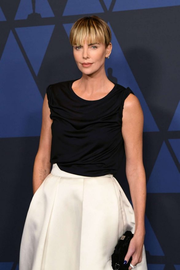 Charlize Theron - Governors Awards 2019 in LA