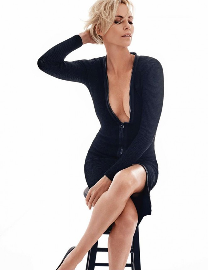 Charlize Theron - GQ UK Magazine (May 2016) adds
