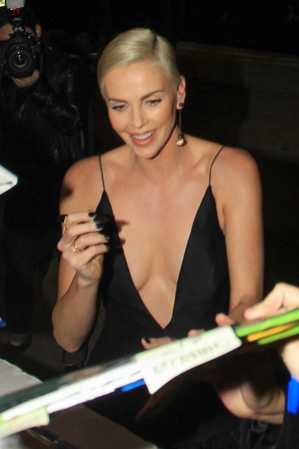 Charlize Theron - Greets fans at the 'Bombshell' Premiere in LA
