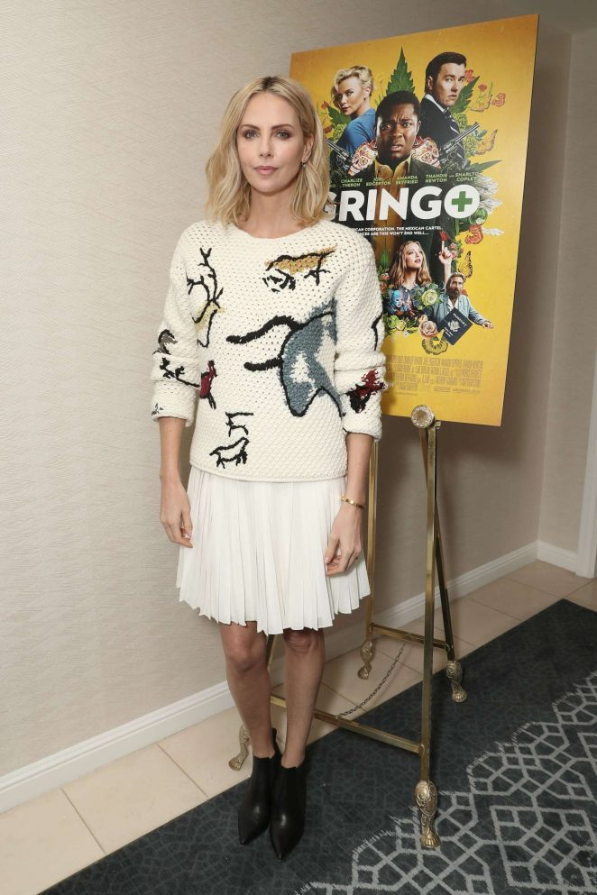 Charlize Theron - 'Gringo' Photocall in Los Angeles