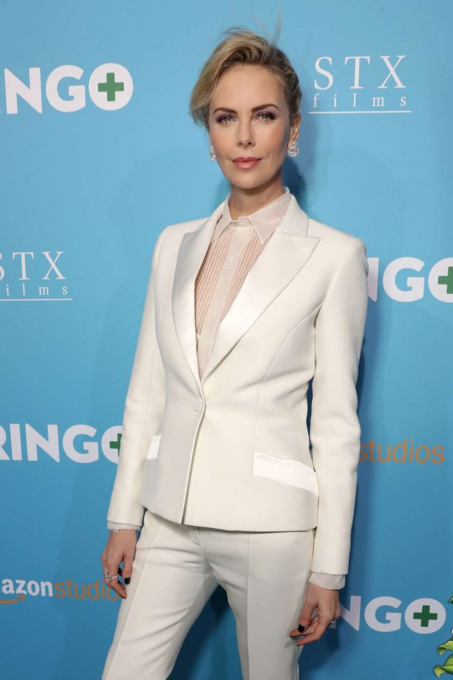 Charlize Theron – 'Gringo' Premiere in Los Angeles
