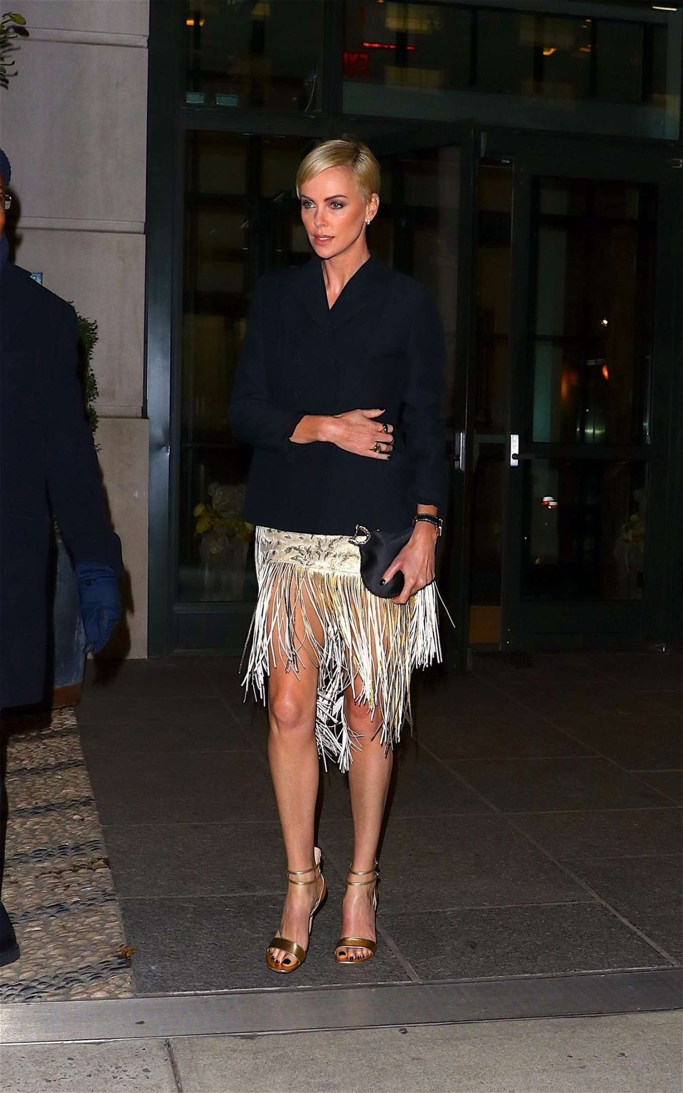 Charlize Theron 2019 : Charlize Theron – Heads to an event in New York City-02