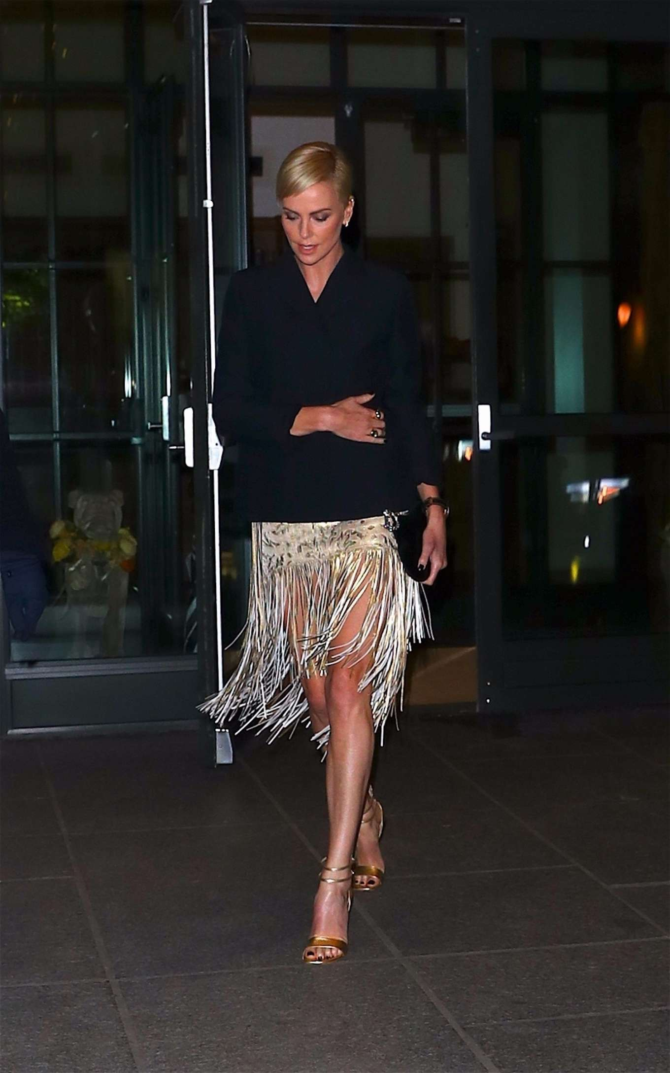 Charlize Theron 2019 : Charlize Theron – Heads to an event in New York City-06