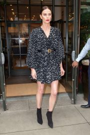 Charlize Theron - Heads to 'The Tonight Show Starring Jimmy Fallon' in NY