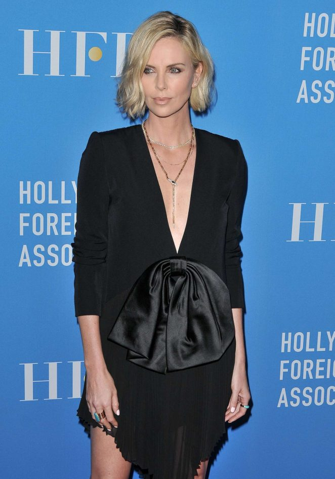Charlize Theron - Hollywood Foreign Press Association Annual Grants Banquet in LA