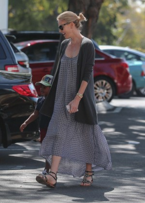 Charlize Theron in Long Dress out in West Hollywood