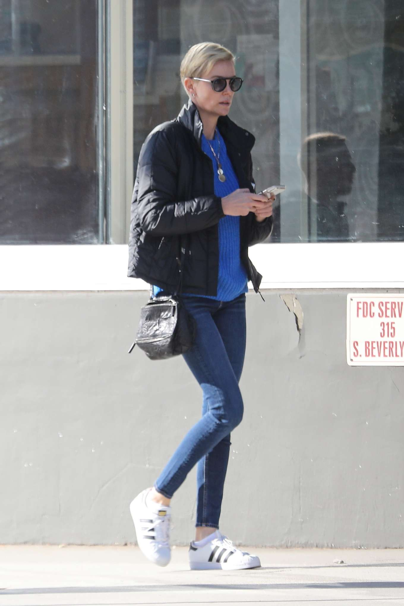 Charlize Theron in Tight Jeans - Out in Beverly Hills