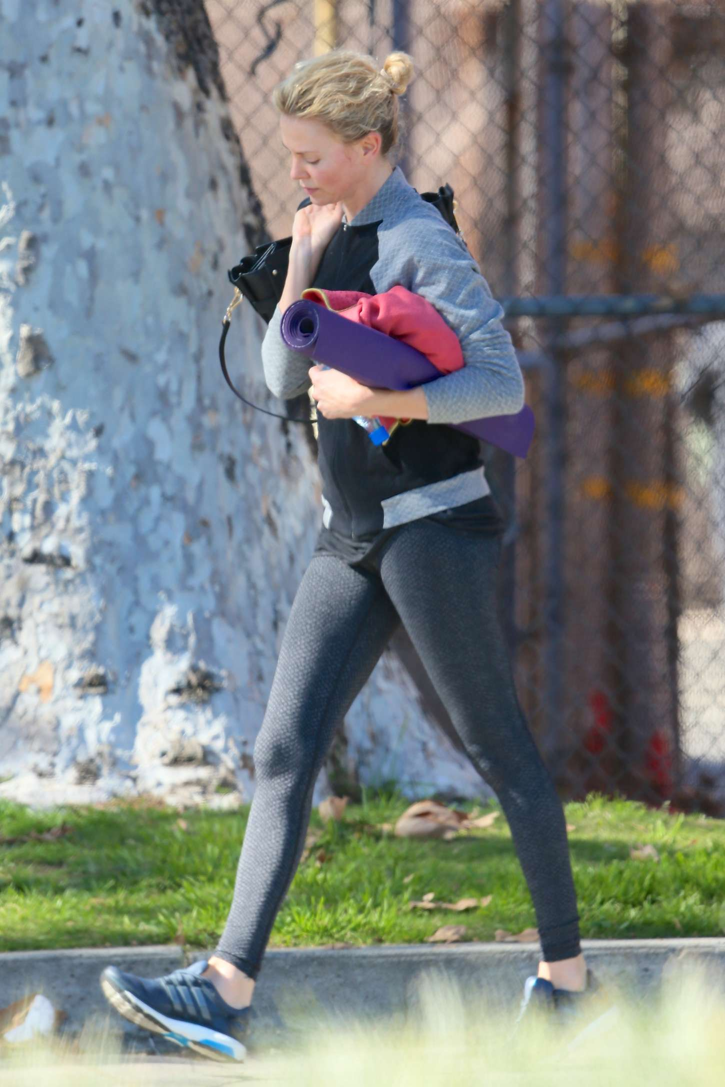Charlize Theron in Tights -18 - GotCeleb