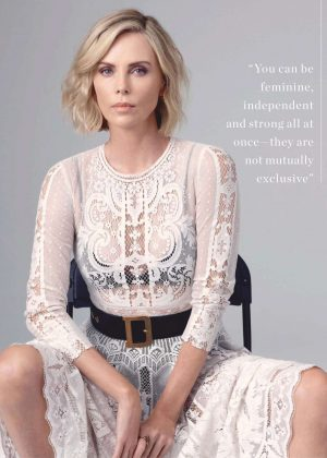 Charlize Theron - InStyle Australia Magazine (January 2019)