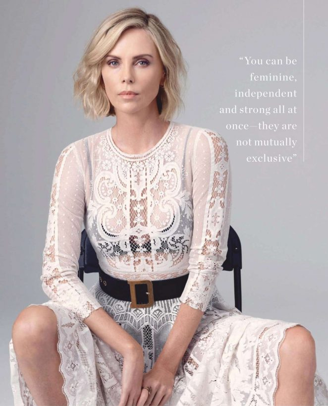 Charlize Theron – InStyle Australia Magazine (January 2019)