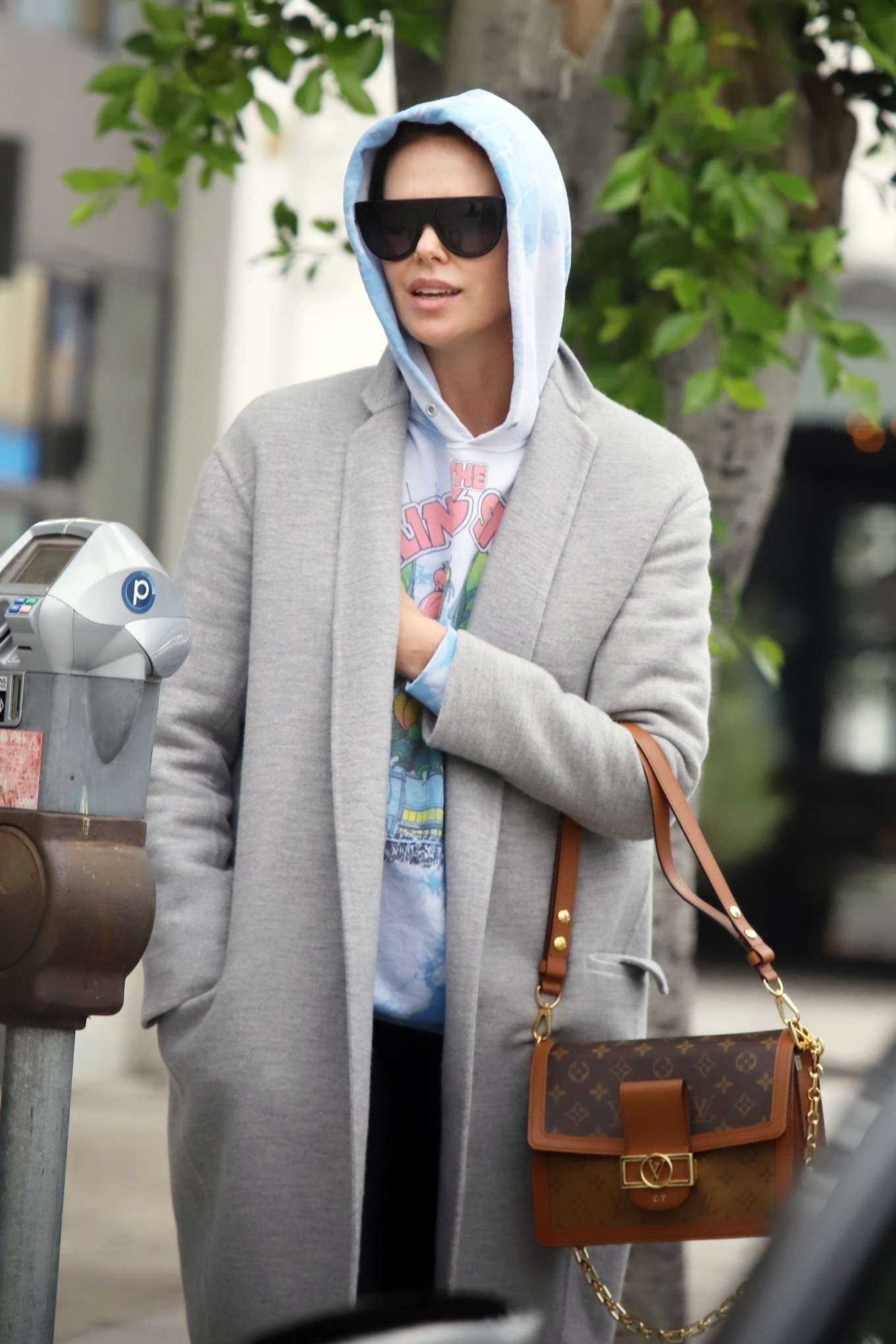 Charlize Theron - Leaves a Business Meeting in Hollywood