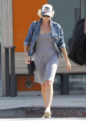 Charlize Theron - Leaves Sugarfish By Sushi Nozawa in Los Angeles