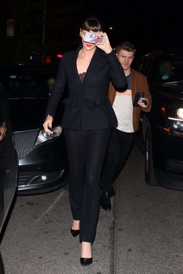 Charlize Theron: Leaves the Long Shot Premiere After Party -04