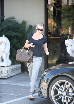 Charlize Theron Leaving a spa in Koreatown