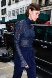Charlize Theron - Leaving Midtown Hotel in New York