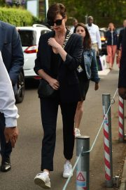 Charlize Theron - Leaving the 2019 Wimbledon Tennis Championships in London