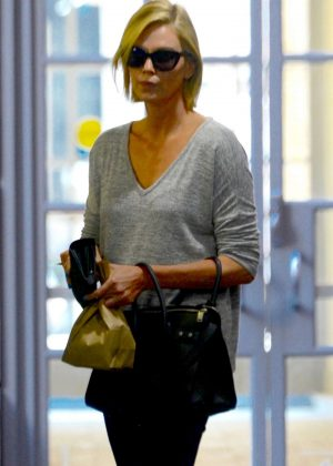 Charlize Theron - Leaving the doctors office in Beverly Hills