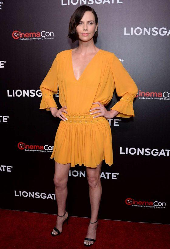 Charlize Theron - Lionsgate Presentation & 'Long Shot' Screening at CinemaCon in Las Vegas